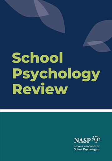 School Psychology Review (SPR) thumbnail